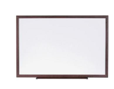 Wood Frame Dry-Erase Board