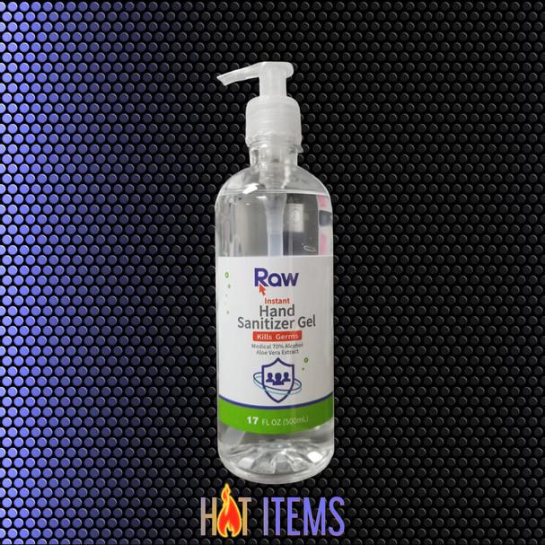 $8.99 EA – Pump Gel Hand Sanitizer - 17oz