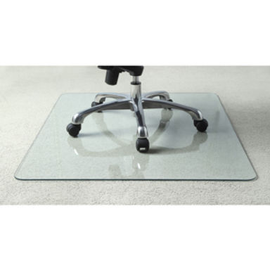 """Tempered Glass Chairmat - 60"""" x 48"""""""