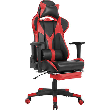Red Gaming Chair W/Lumbar
