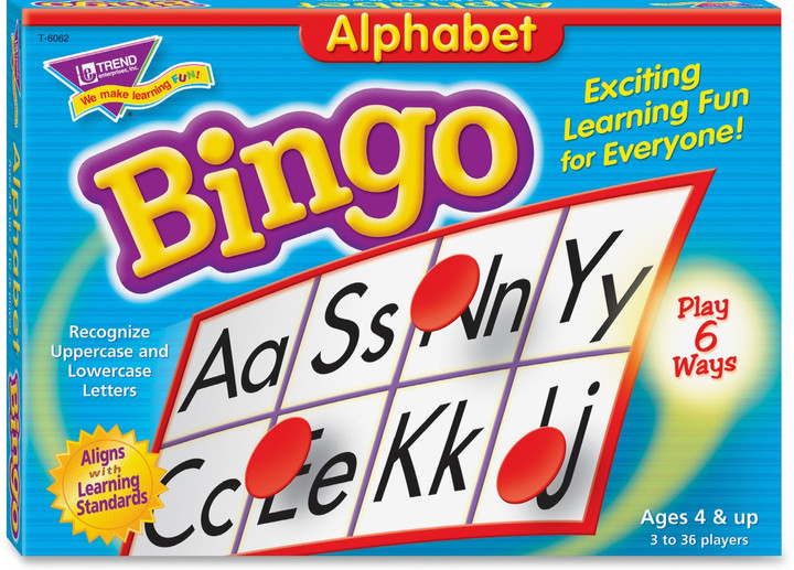 Alphabet Bingo Learning Game