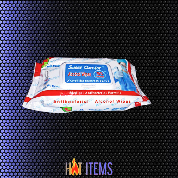 **OUT OF STOCK** $9.95 PK or $190.80 CT of 24PK, Sanitizing Wipes