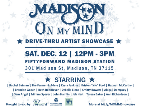 Madison On My Mind Artist Projects