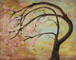 Mom's Pink Tree