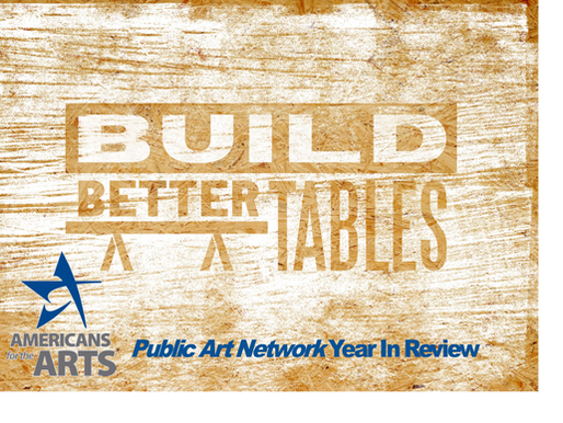 Build Better Tables Honored Among Top Public Art Projects of 2018