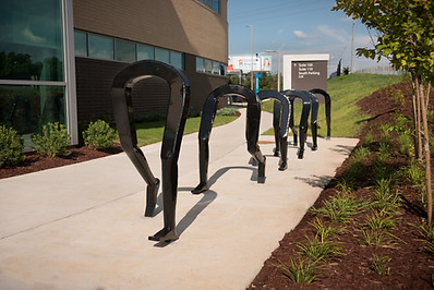 Artist Designed Bike Rack: Are We There Yet?