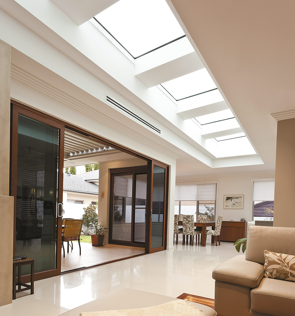 Incorporate roof lights to increase light and enhance views