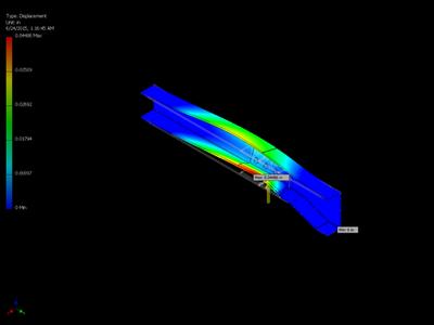 Dart LRV Repair Stress Analysis