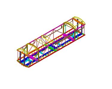 F3B Power Car Structural Recreation