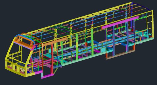 DART LRV Structural Model Recreation