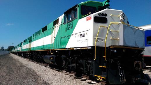 F59PH Locomotive Exterior Before Rebuild