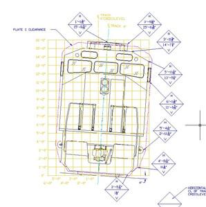 F59PH Locomotive Clearance Diagram