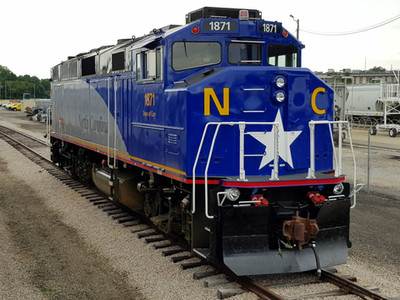 F59PH Locomotive After Rebuild