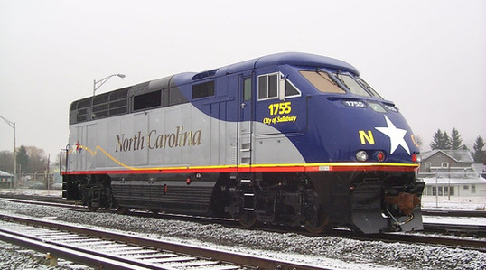 NCDOT F59PHI Locomotive