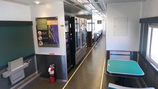 Railcar Interior After Refurbishment