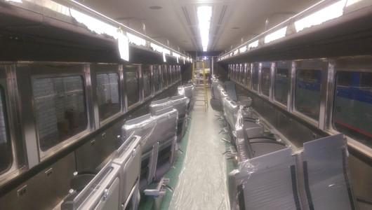 Coach Interior Near Completion