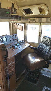 Locomotive Interior Before Rebuild
