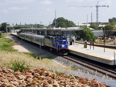 Piedmont Train at Raleigh Union Station.