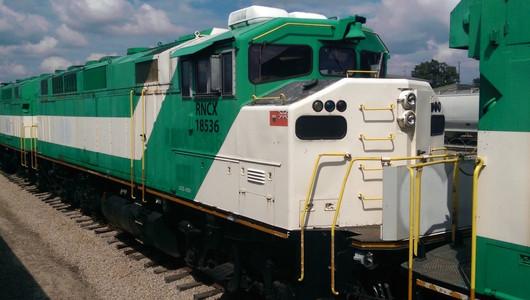 F59PH Locomotive Before Rebuild