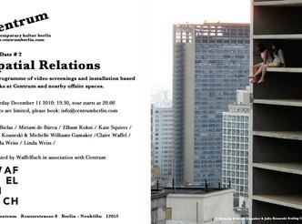 Centrum Berlin - Spatial Relations