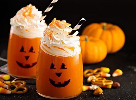 Jus de citrouille sucré pour halloween