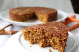 Carrot Cake avec la pulpe de son jus