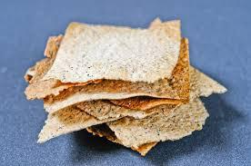 Crackers au potimarron et aux graines de courge