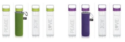 Bouteilles en verre Design 500ml et 1Litre