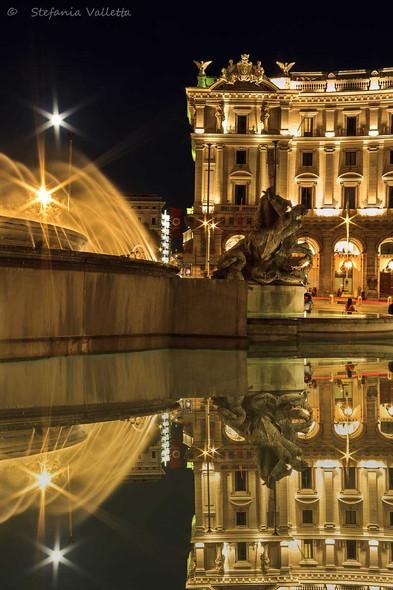 Piazza dell'Esedra - Fontana delle Naiadi