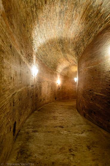 rampa elicoidale - mausoleo di Adriano