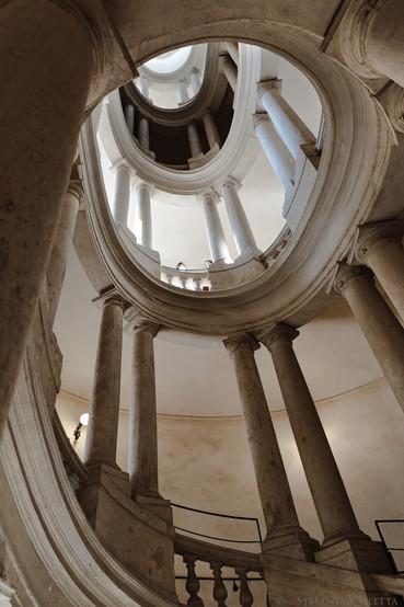 Scala elicoidale - Francesco Borromini