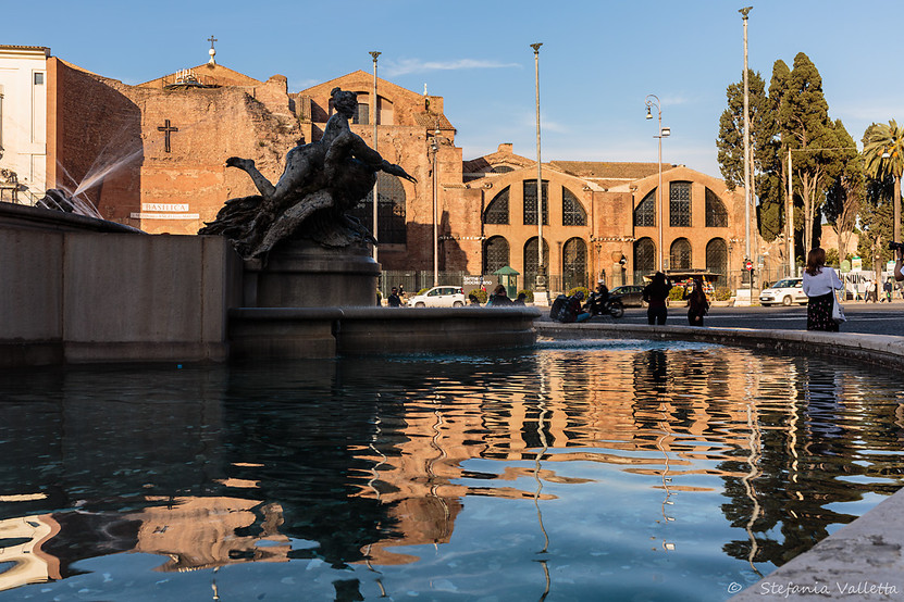 Fontana dell'Esedra - S. Maria degli Angeli
