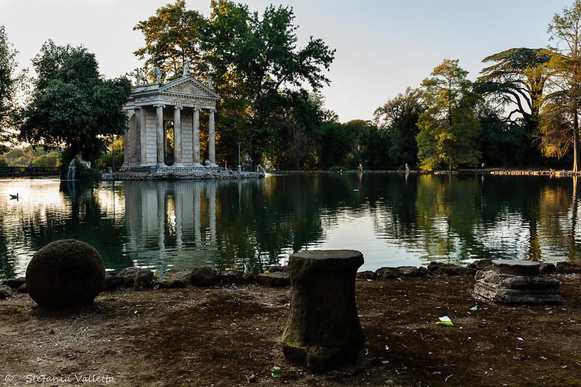 Tempio di Esculapio - Villa Borghese
