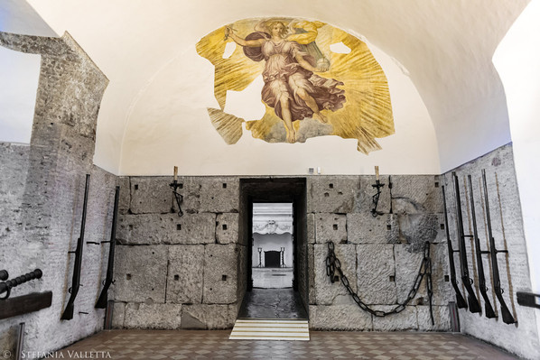 La sala delle armi - Castel Sant'Angelo