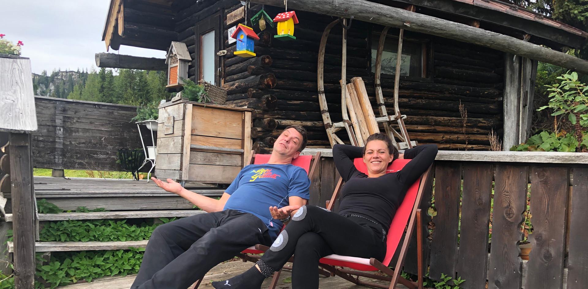 Relax auf der Schüttalm