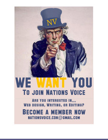 We want you to join Nations Voice