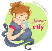 mamma and the city - portare in fascia.j