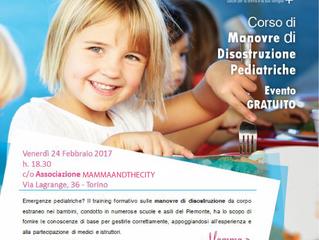 3 marzo: manovre di disostruzione pediatrica insieme a gineceo associazione culturale