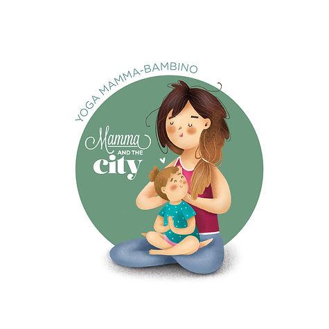 mamma and the city - YOGA mamma bimbo.jp
