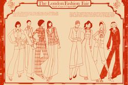 Fashion Forecast, London, 1973