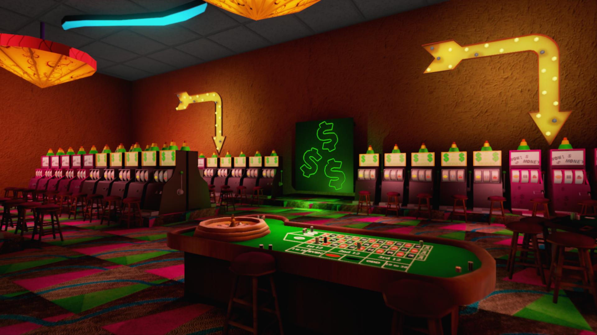 3D Casino Environment