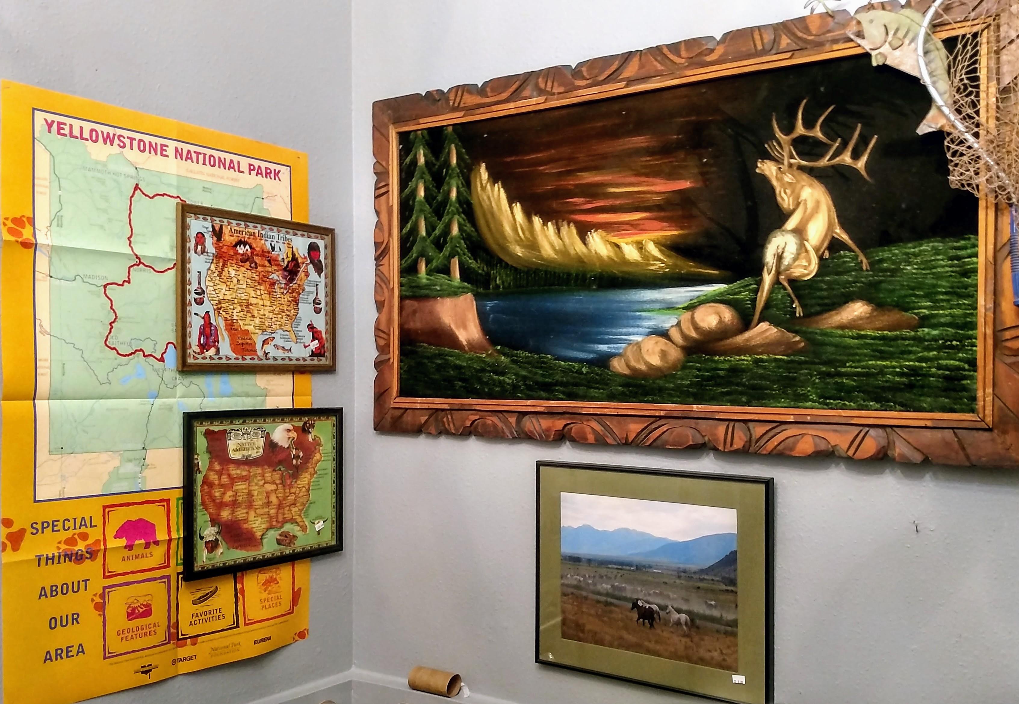 Exhibit: Montana Gallery bathroom