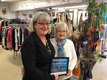Community Closet Wins Good Neighbor Award