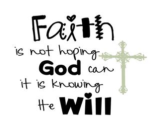Sharpen Your Faith - Vision