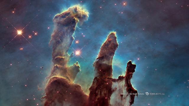 Eagle Nebula - Hubble Telescope