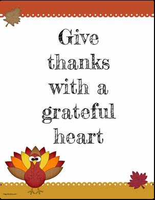 Prayerfully, Powerfully, Perpetually Grateful