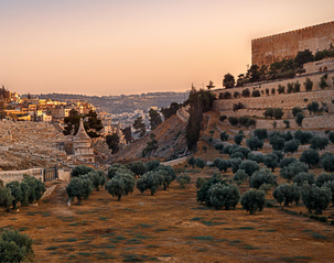 Places of Passion: The Mount of Olives