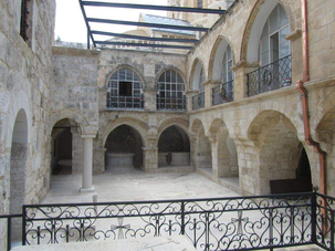 Places of the Passion: The High Priest's Courtyard