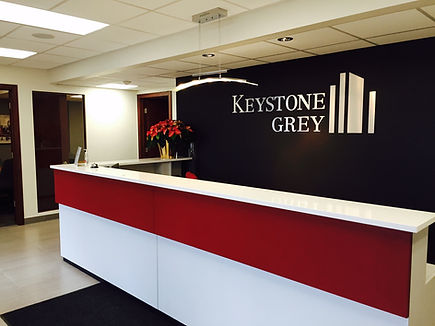Keystone Grey office completed 2014