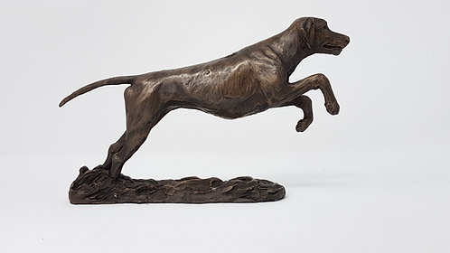 Rhodesian Ridgeback sculpture by Ann Kilminster